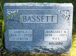 Margaret M <i>Holiday</i> Bassett