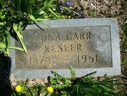 Mary Edna <i>Carr</i> Kessler