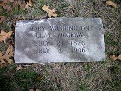 Mary Washington Mollie <i>Clay</i> McCraw