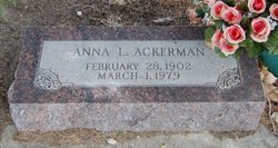 Anna Louise <i>McNamee</i> Ackerman