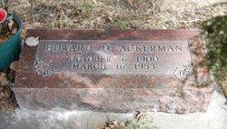 Howard Darrell Ackerman