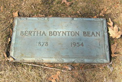 Bertha Juanita <i>Boynton</i> Bean