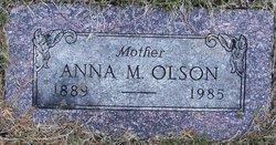 Anna M Olson