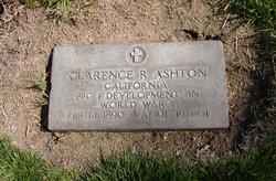 Clarence R. Ashton