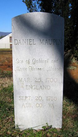Daniel Maupin, Sr