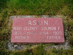 Mary Delaney Mollie <i>Bess</i> Aslin