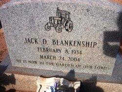 Jack D Blankenship