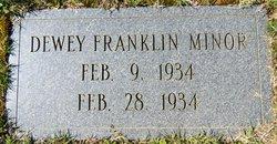 Dewey Franklin Minor