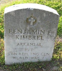 Benjamin F. Kimbrel
