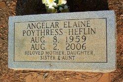 Angelar Elaine <i>Poythress</i> Heflin