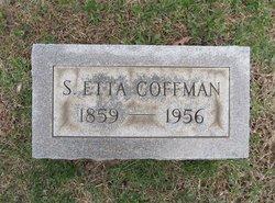 Sarah Etta Coffman