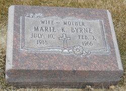 Marie Kathleen <i>Curtis</i> Byrne