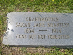 Sarah Jane <i>Langston</i> Brantley