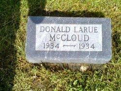 Donald Larue McCloud