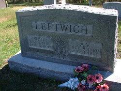 Alice V <i>Elrod</i> Leftwich
