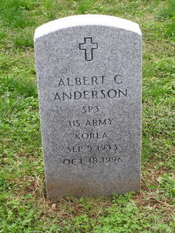 Albert C Anderson