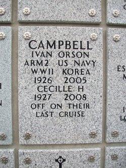 Cecille L <i>Hazlett</i> Campbell