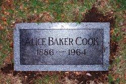 Alice <i>Baker</i> Cook