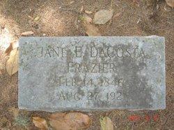 Jane Elizabeth <i>DaCosta</i> Frazier