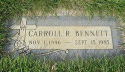 Carroll R Bennett