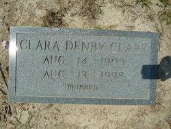 Clara <i>Denby</i> Clark