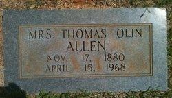 Mrs Thomas Olin Allen