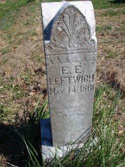 Ellen Elizabeth <i>Newman</i> Leftwich