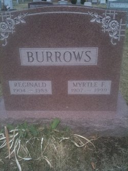 Myrtle F. <i>Kittredge</i> Burrows
