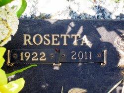 Rosetta <i>Crabtree</i> Byrd
