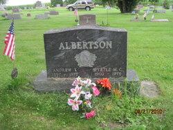 Myrtle Maria Christina <i>Adrion</i> Albertson