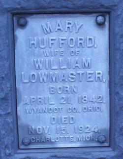 Mary <i>Hufford</i> Lowmaster