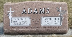 Theresa Barbara <i>Schreiner</i> Adams