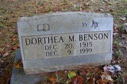 Dorothea Marie Dot <i>Morrow</i> Benson