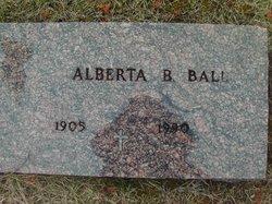 Alberta B <i>Doran</i> Ball