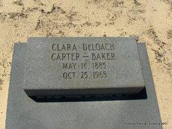 Clara May <i>DeLoach</i> Baker