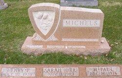 Sarah <i>Orr</i> Michels