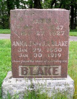 Anna Jane <i>Hill</i> Blake