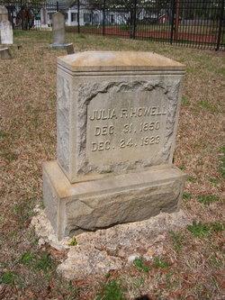 Julia F Howell