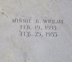 Minnie <i>Blalock</i> Wright