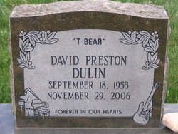 David Preston <i>T-Bear</i> Dulin
