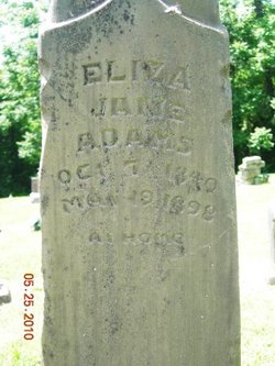 Eliza <i>Bailey</i> Adams