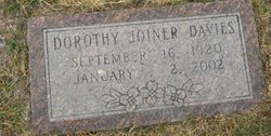 Dorothy <i>Joiner</i> Davies