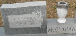 Virgil Orville McClaran