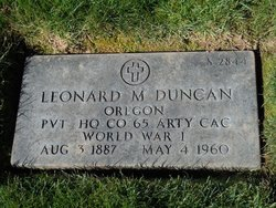 Leonard R Duncan