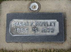 Sarah Frances Sadie Peffley