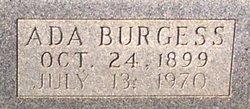 Ada Idell <i>Burgess</i> Austin