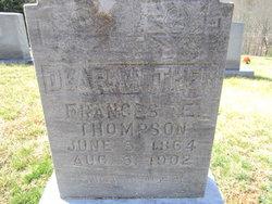 Frances E Thompson