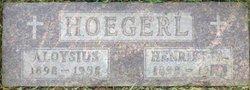 Henrietta <i>Weidner</i> Hoegerl