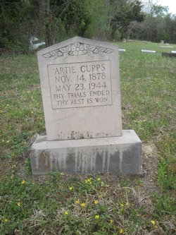 Artie Missie Ann <i>Leslie</i> Cupps