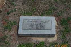 Lanta Irene <i>Smedley</i> Childers